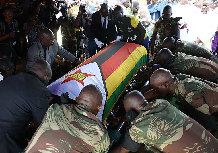 Furore over burial of National Heroes divides funeral industry
