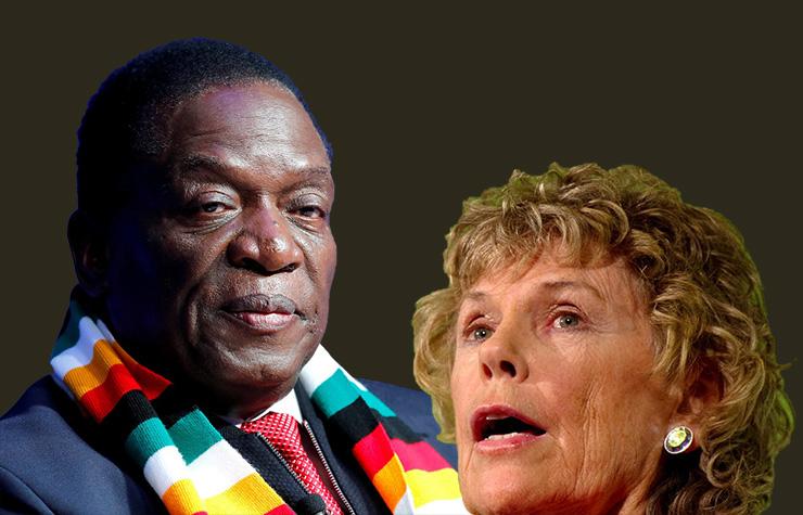 UK MP wants Zim re-engagement stopped; urges Mnangagwa travel ban