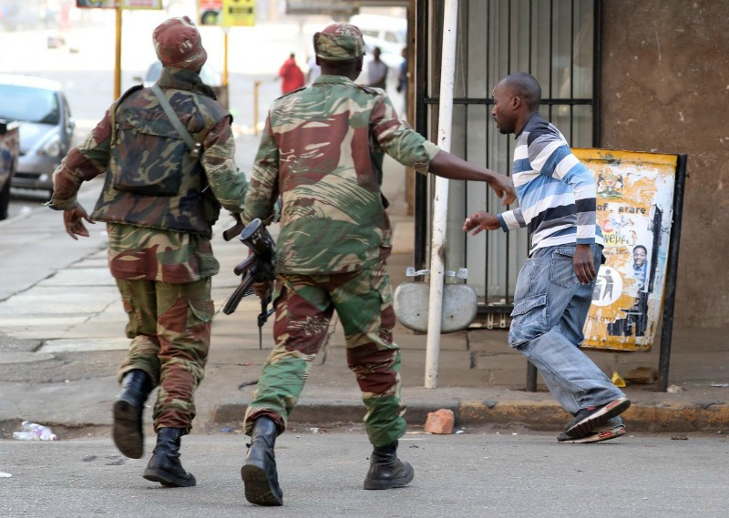 Army, new human rights problem child for Zimbabwe – rights group
