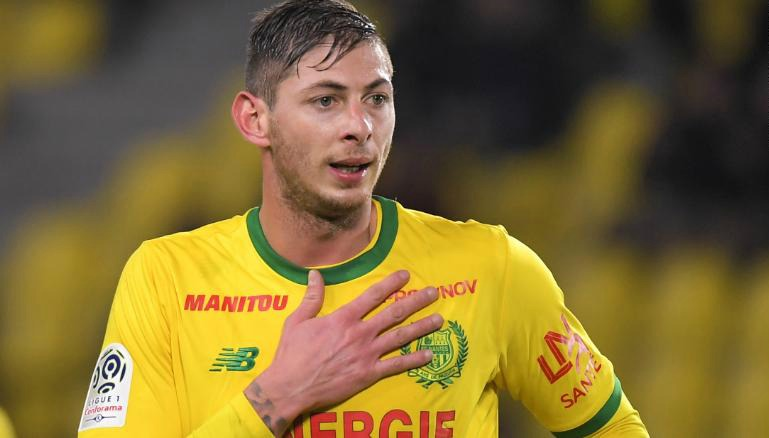 Nantes retire Emiliano Sala shirt number following his death in plane crash