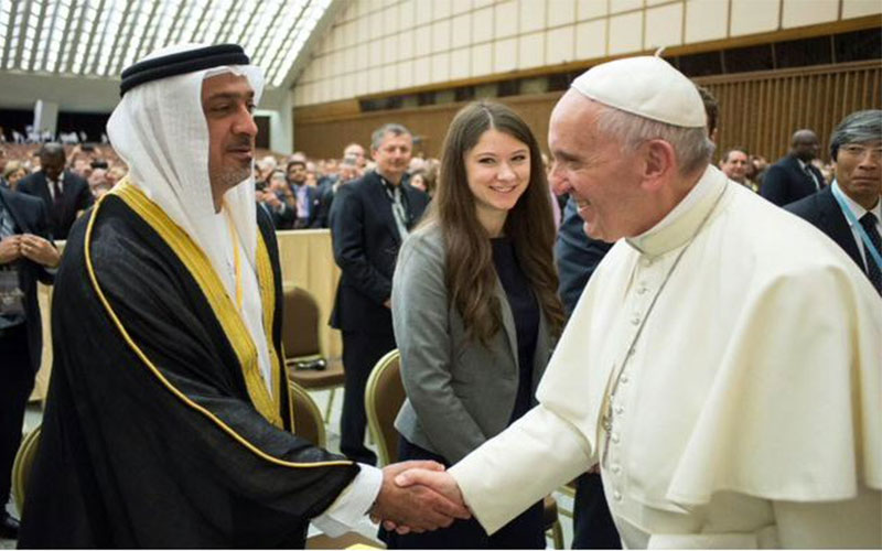 Pope in historic visit to UAE to highlight religious freedom