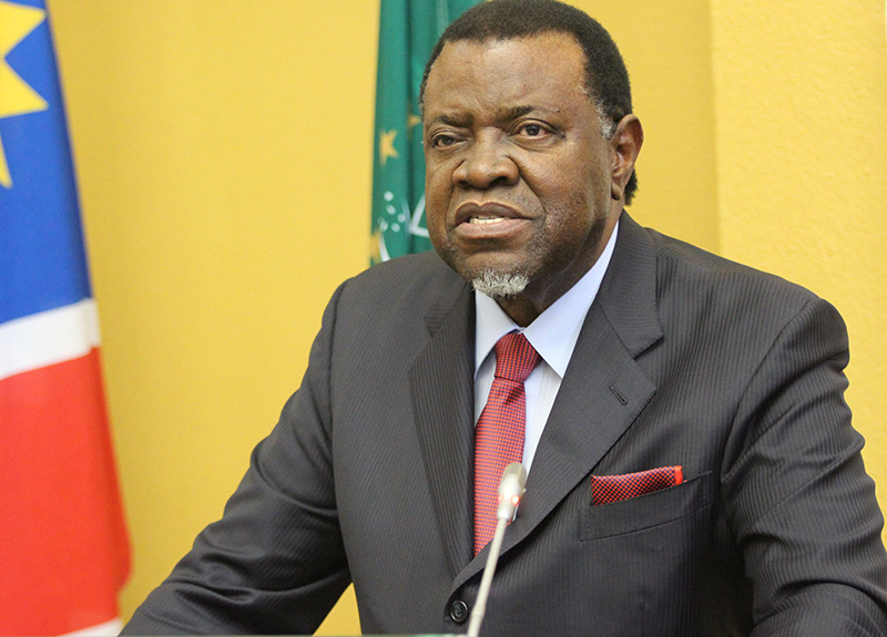 Namibia says to keep distance from Mnangagwa abuses