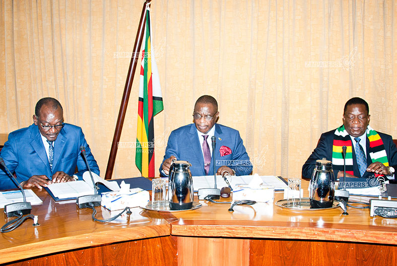 'Ailing' Chiwenga back in Zim, attends Cabinet meeting