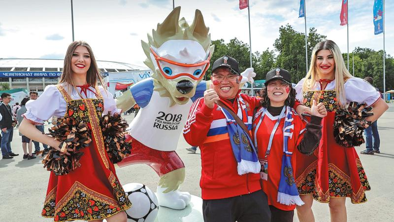 After World Cup, Russians flock to matches