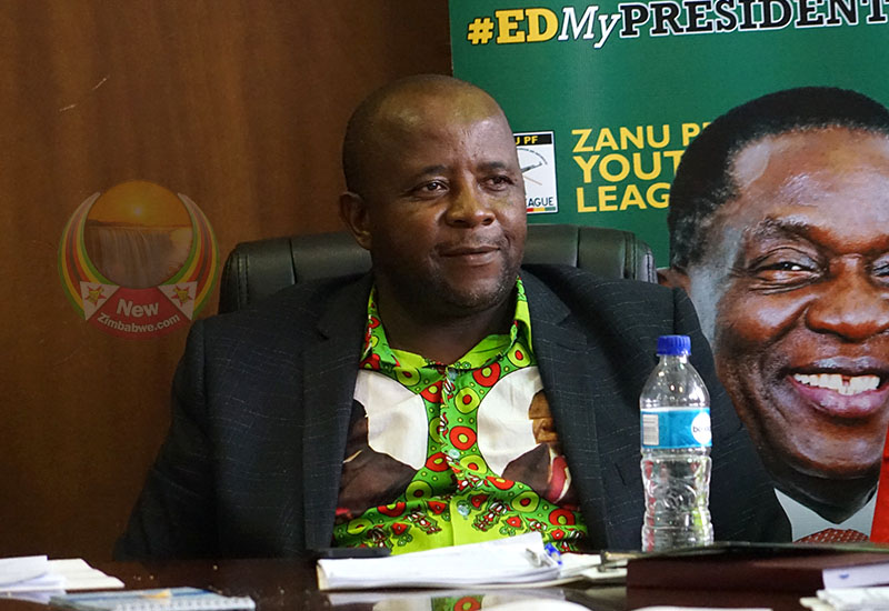 Zanu PF youth league vows resistance against MDC 'regime change' plot