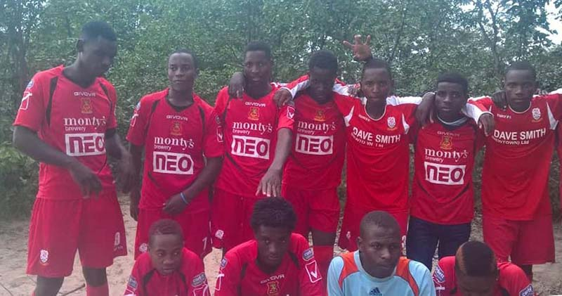 UK: Diasporan secures donation for Tsholotsho team from Walsh premiership side