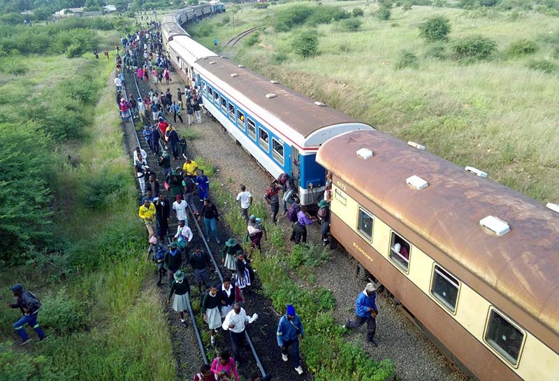 Broke NRZ to give free transport to 2,700 anti-sanctions protesters