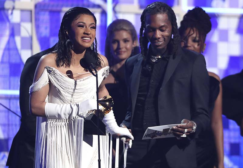 Rap artists and women take centre stage at Grammys