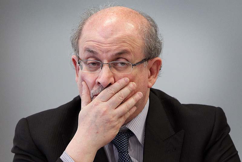 'I don't want to hide' says Rushdie, 30 years after fatwa