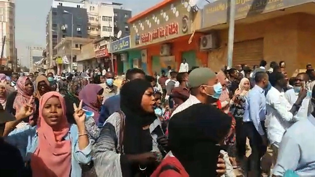 Police disperse protest march on Sudan women's prison