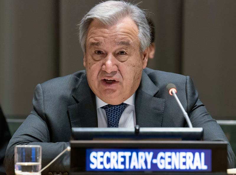 UN chief sees 'wind of hope' in African peace deals, elections