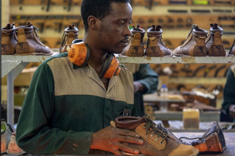 Handmade Zimbabwe shoes an unlikely global hit