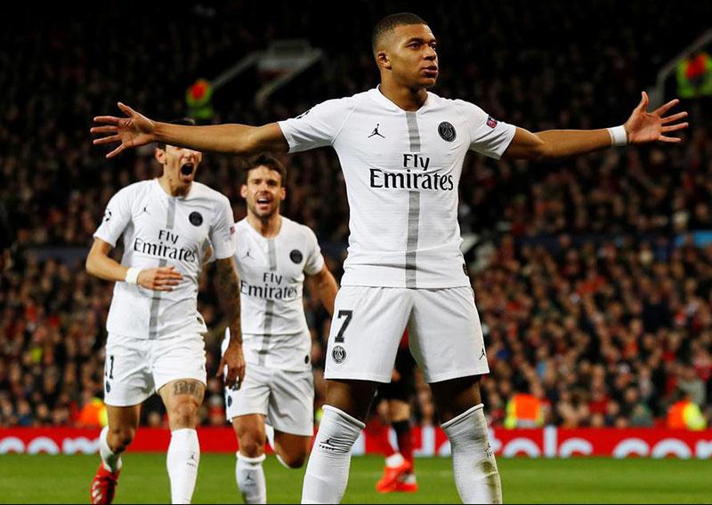 Mbappe stars as PSG hand Man Utd a reality check