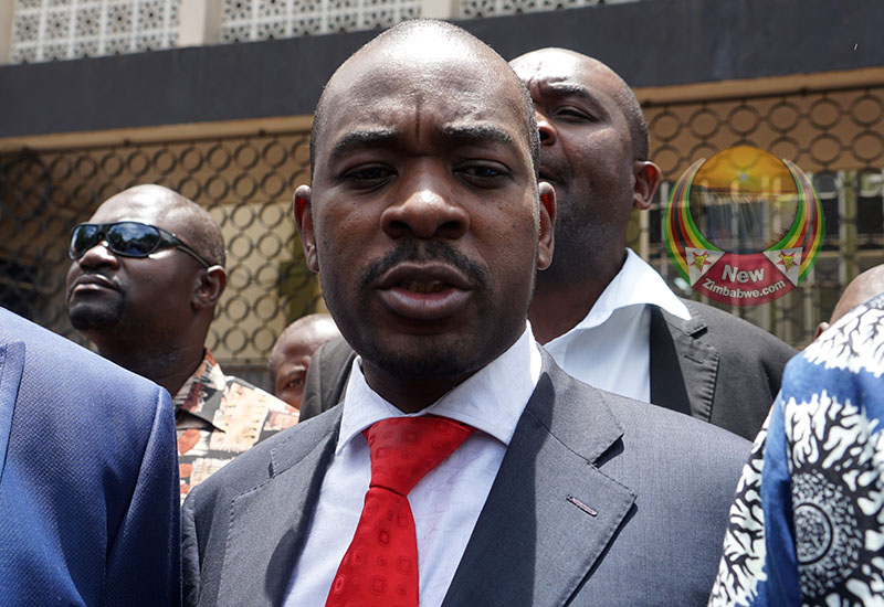 Chamisa finally gets VIP treatment at State assisted funeral