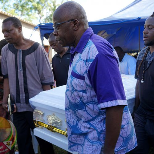 Charles Mungoshi burial in pictures