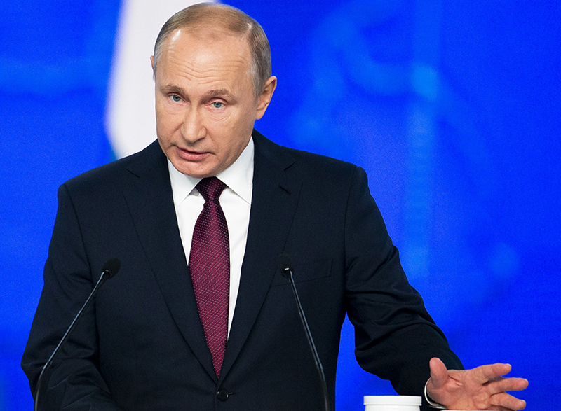 Putin accuses West of 'blackmailing' Africa
