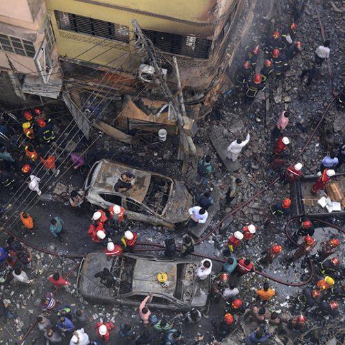 Deadly Fire guts ancient part of Bangladesh's capital, killing 81