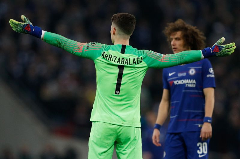 Man City edge League Cup final marked by Chelsea keeper mutiny