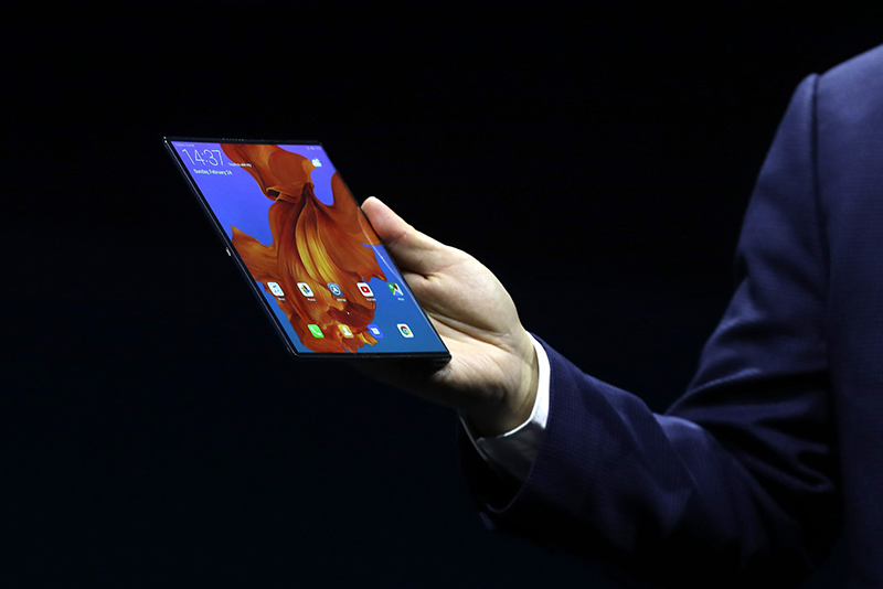 China's Huawei unveils 5G phone with folding screen