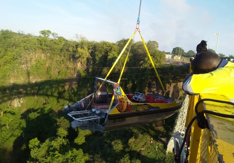 Tourism firm launches jet boat in Victoria Falls
