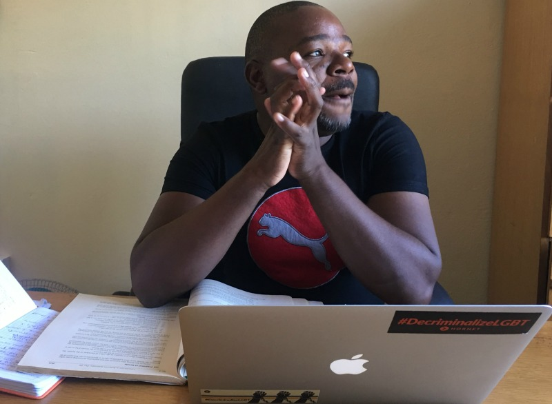 Activist opens up on gay life, says 90% Zim gays struggle to find love