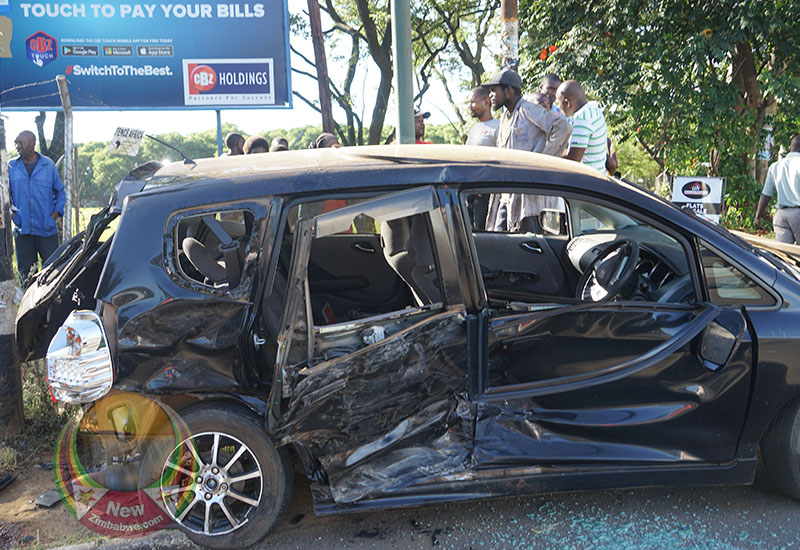 Mnangagwa witnesses horrific car crash