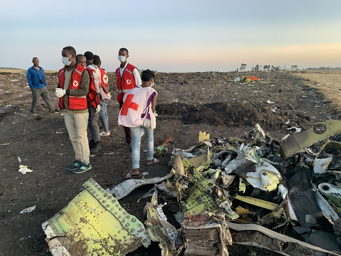 Remains of Ethiopian Airlines crash victims flown home