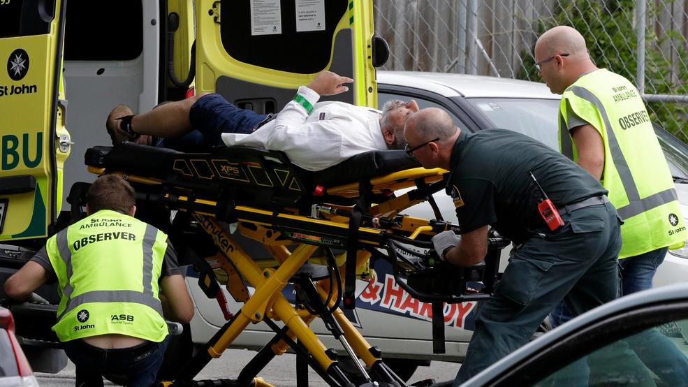 40 dead in New Zealand mosque shootings