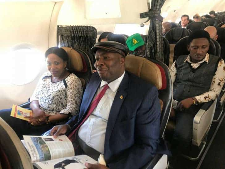 Kasukuwere announces return to exile?