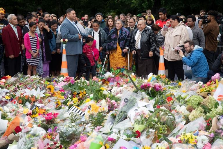 At memorial, mosque survivor says he forgives attacker