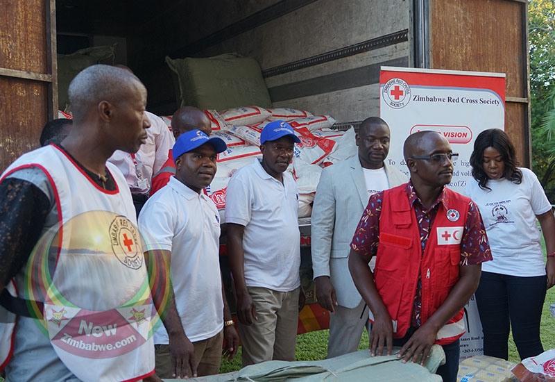 WATCH: UK based Express Links and DFCP donate to Cyclone Idai disaster victims