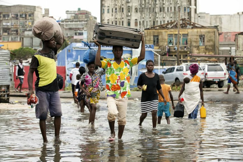 Cyclone Kenneth: Storm-battered Mozambique hit again