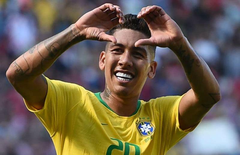 Firmino, Jesus on target as Brazil beat Czech Republic