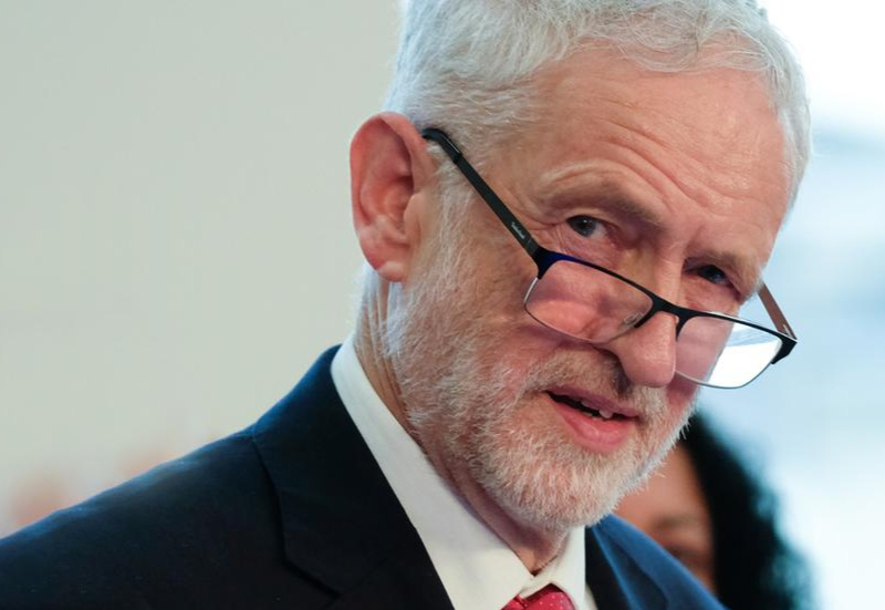 Anger over British army use of Corbyn picture as target