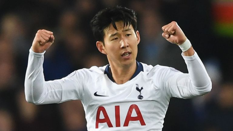 Son fires Spurs to CL first leg victory