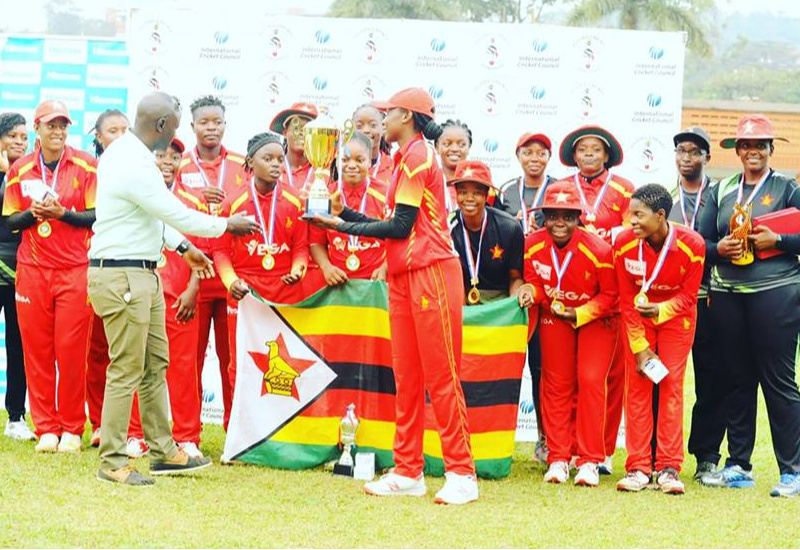 Zimbabwe crowned Africa women's cricket T20 champions