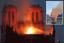 Notre-Dame in first mass since freak fire
