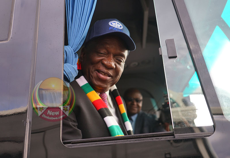 Mnangagwa launches new payment system for revived Zupco
