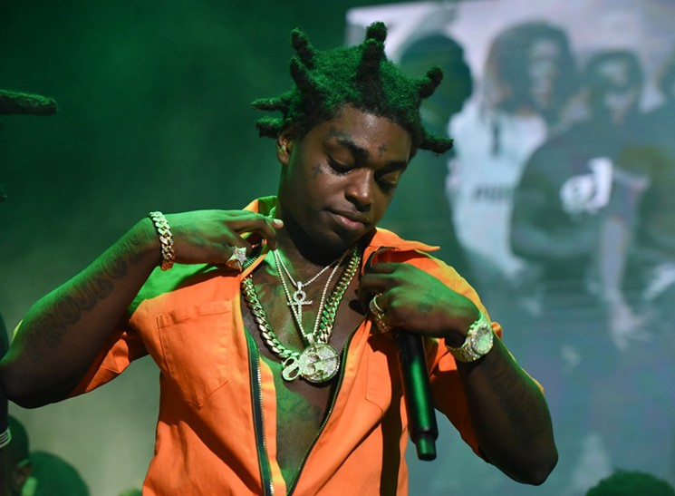 Rapper Kodak Black 'was arrested at U.S border on drugs and weapons charges'