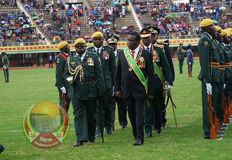 Jittery Mnangagwa moves to pacify restive military