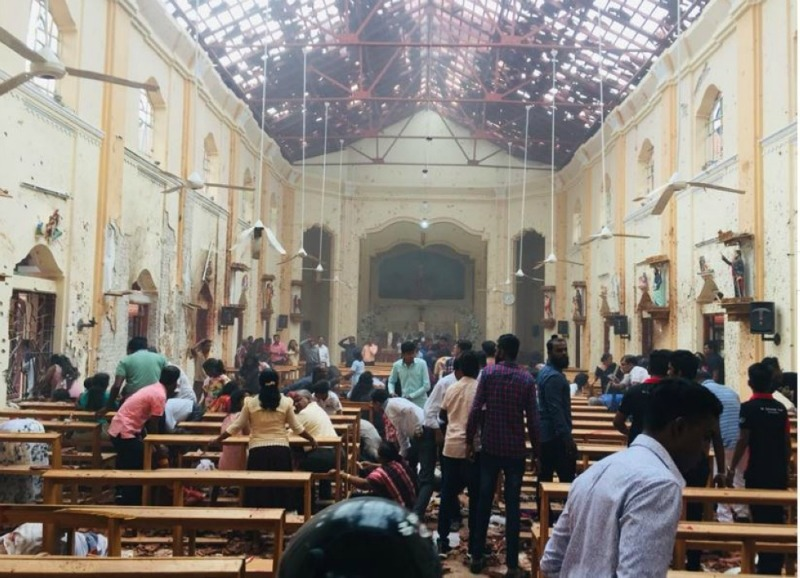 Sri Lanka falls silent for victims of Islamist attack