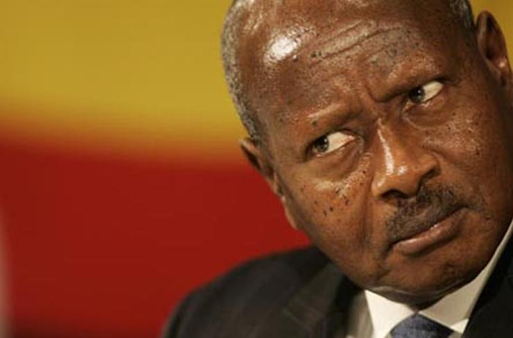 Uganda's Museveni in Mugabe rib tickler as he jets in for ZITF