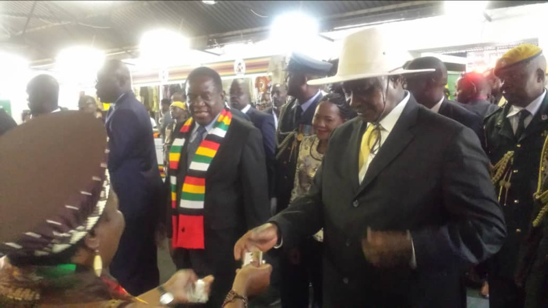 Sanctions: Museveni takes aim at Mugabe, Mnangagwa