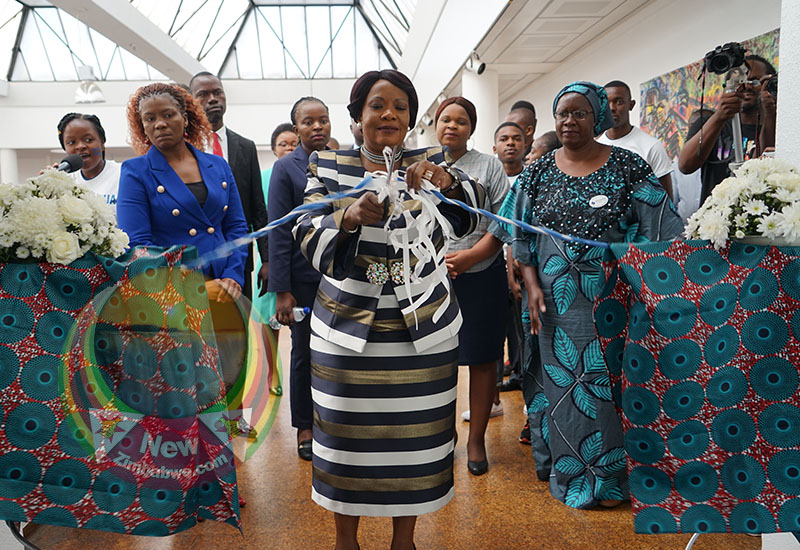 First Lady Auxillia Mnangagwa last week called for free access to sanitary-wear by women