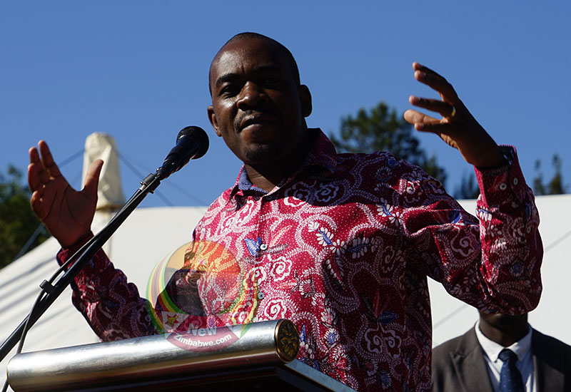 "Lies: Gvt screams at ""funeral power snatcher"" Chamisa"