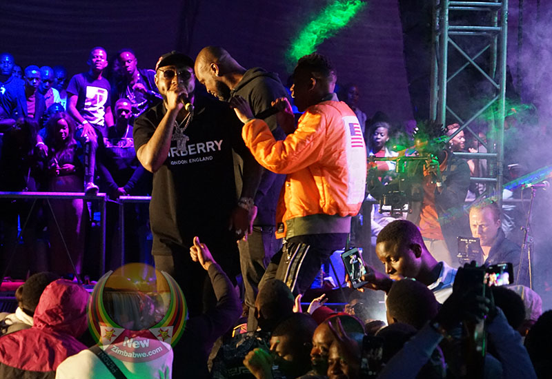 King98 rocks Harare with audacious album launch, attended by international stars