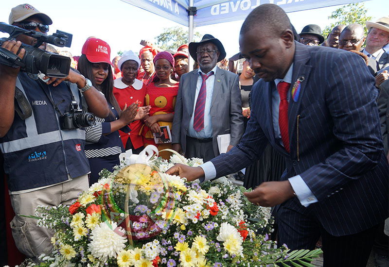 Images at late Tsvangirai's memorial