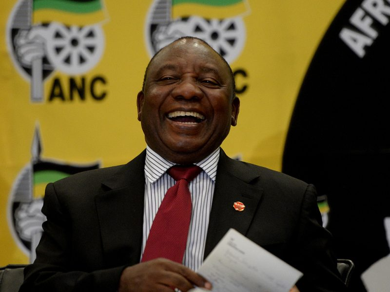 South Africa chief vows to purge ANC of 'deviant tendencies'