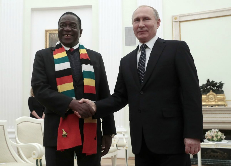 Red lights Are Flashing Over Russian Dealings With Mozambique, Zimbabwe