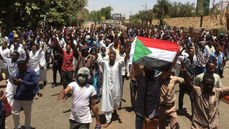 Sudan protesters call two-day strike